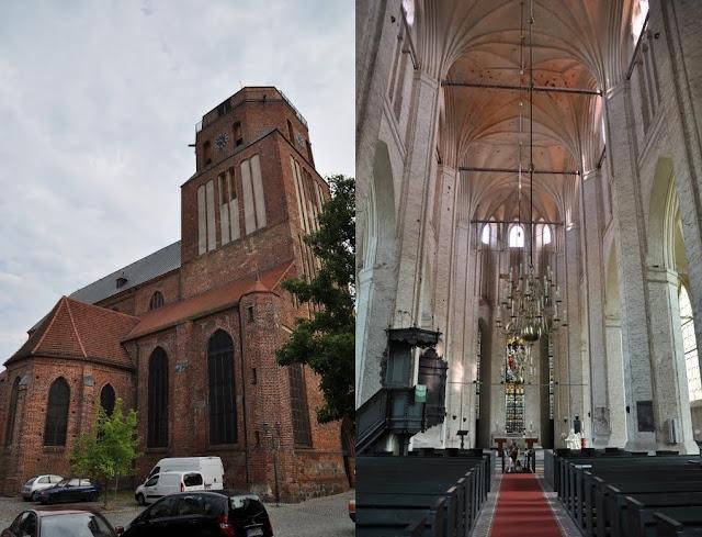 Wolgast - kościół Św. Piotra