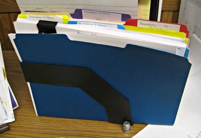 colorful manila folders office supplies