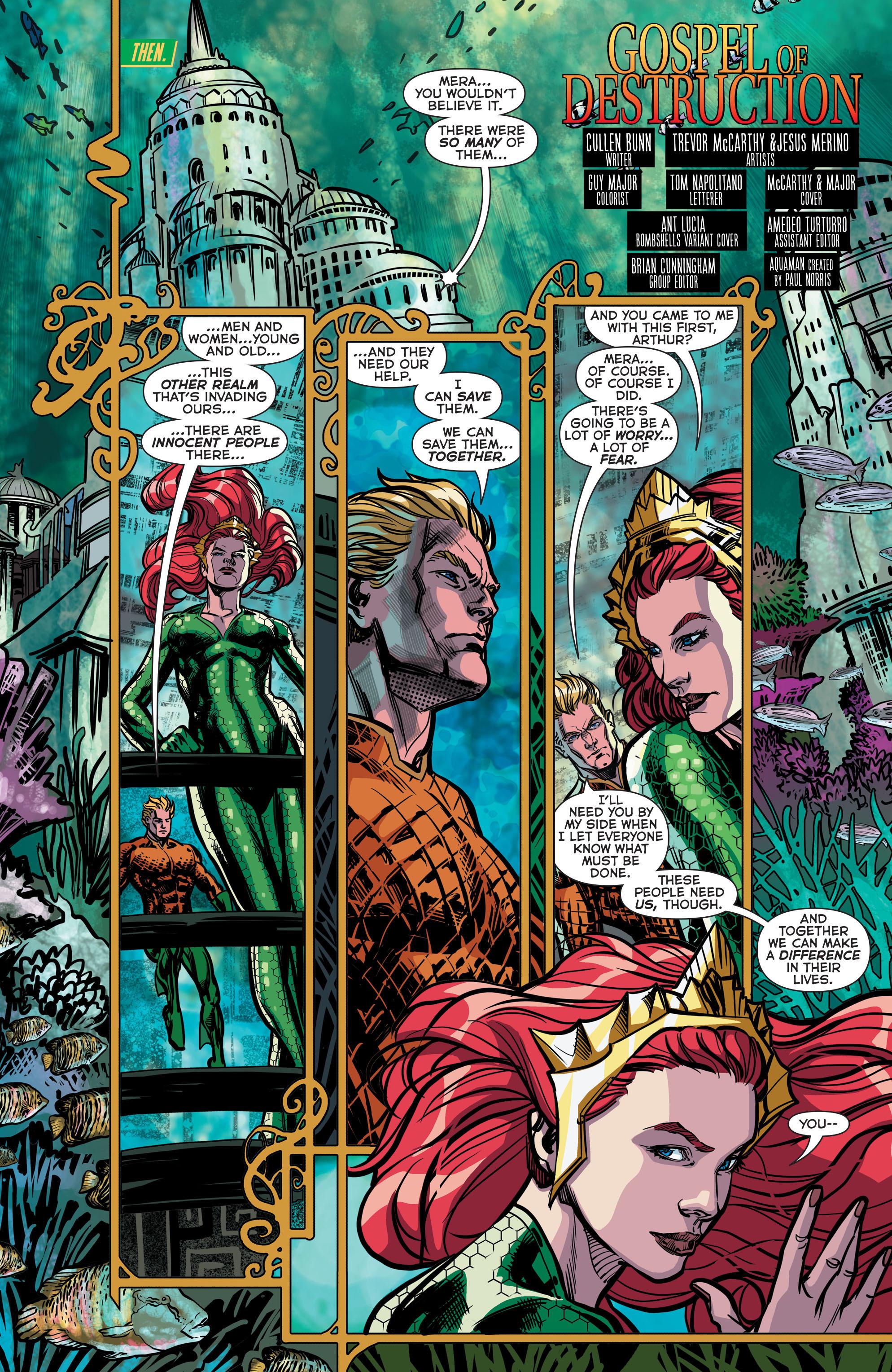 Read online Aquaman (2011) comic -  Issue #43 - 4