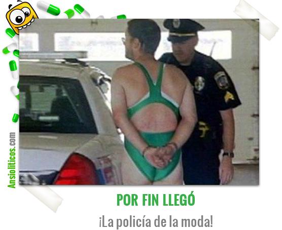 Chiste de la Policia de la Moda