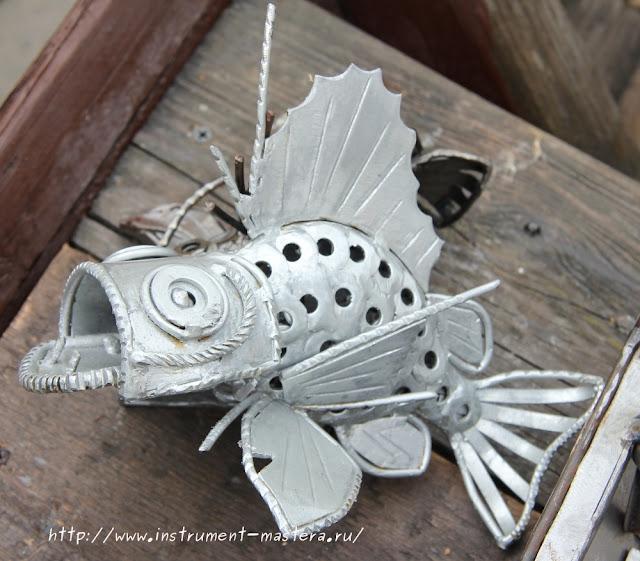 Железные рыбки