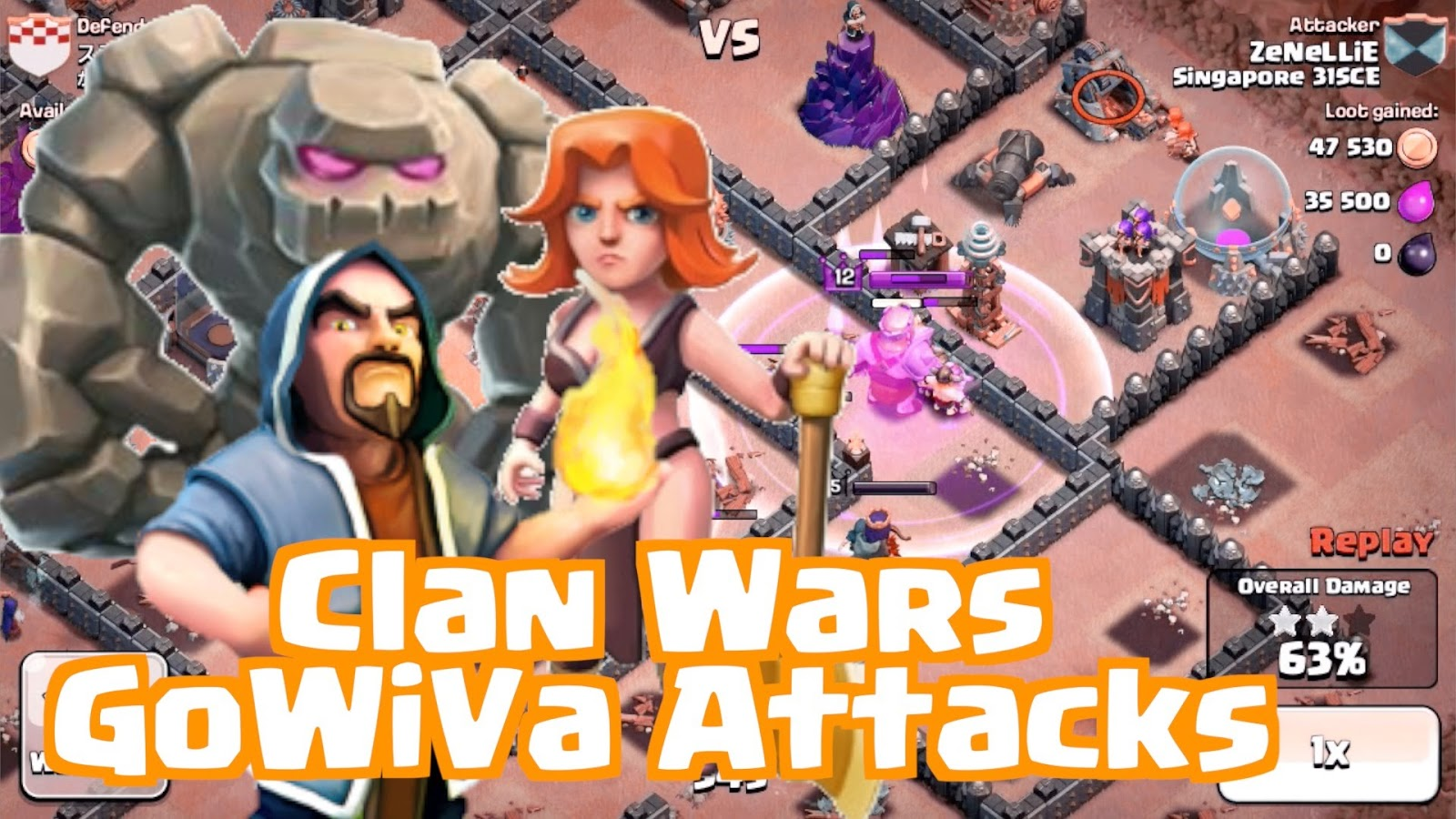 Jenis Jenis Strategi War Pada Clash Of Clans Kombinasi Troops