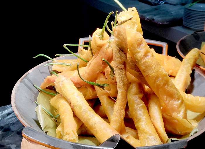 Fried Sili Sticks