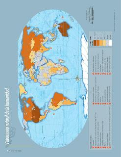 Apoyo Primaria Atlas de Geografía del Mundo 5to. Grado Capítulo 2 Lección 4 Patrimonio Natural de la Humanidad