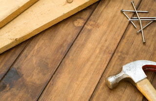 Terasz építése fapadló burkolat