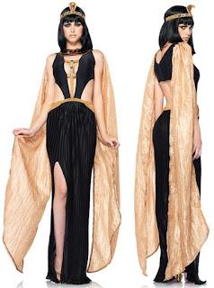 disfraz casero egipcio