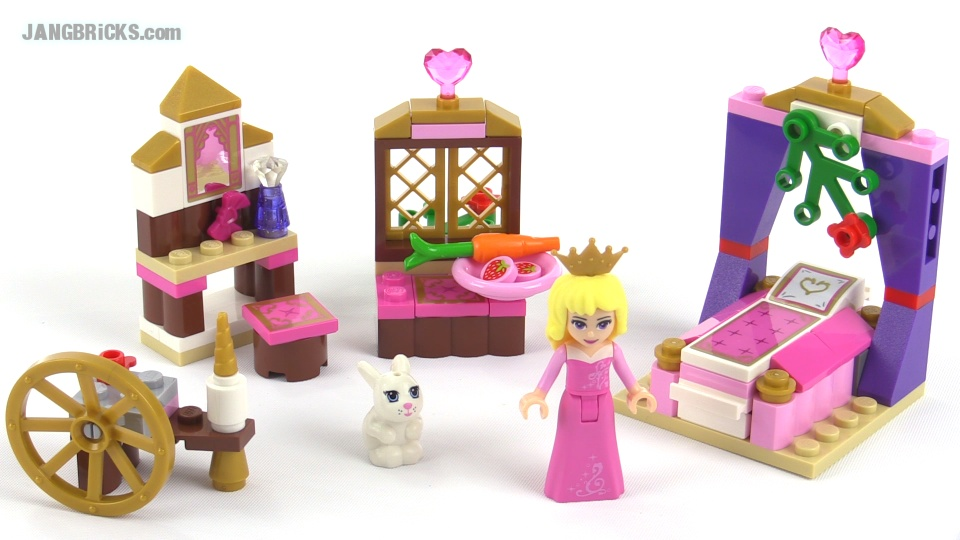 LEGO Disney Princess Sleeping Beauty's Royal Bedroom ...