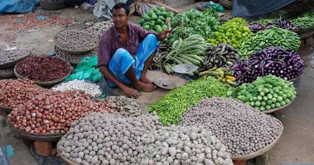 A Village Market In Bangladesh