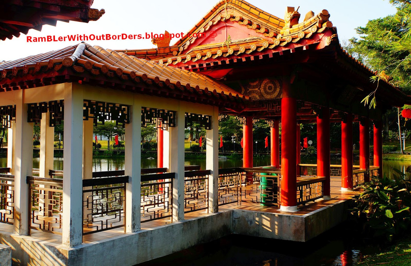 Tea House Pavilion, Chinese Garden, Singapore