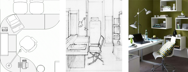 home office layout designs. Home Office Layout Interior Design Room Tips  OnlineDesignTeacher