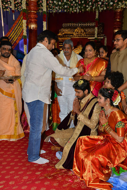 Celebs at Boyapati Srinu Brother Boyapati Brahmananda Rao Daughter Wedding Photos_70