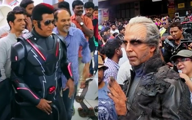 Have you seen the making of #2pointO (Robot 2) Starring Superstar Rajnikant and Akshay kumar