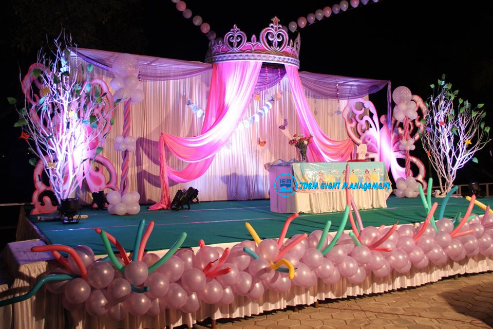 Birthday Party Decoration Stage (Code IEMB1002)