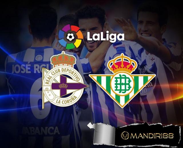 Deportivo vs Real betis