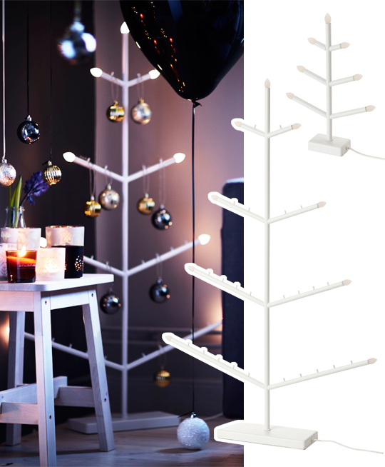 IKEA julen 2016, Stråla golvljusstake och ljusstake | www.var-dags-rum.se