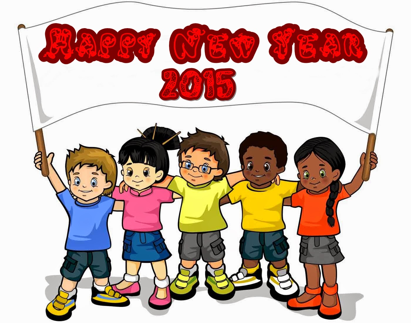 New Year Wallpapers For Kids 2015