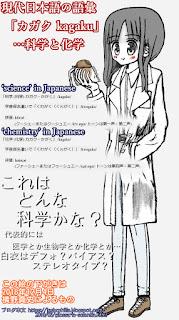 kagaku japanese words science chemistry
