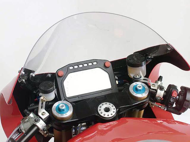 Moto Guzzi MGS-01 Corsa Motorcycle Dash