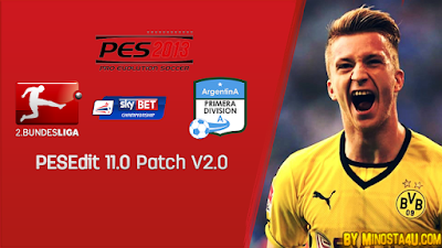 Update Patch PES 2013 PESEdit 11.0 V2 Final