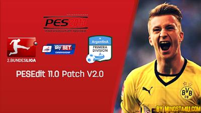 Update Patch PES 2013 PESEdit 11.0 V2 Final