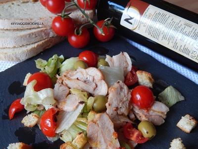 Caesar Salad con pollo alla griglia