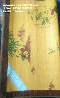 Jual Tikar Bambu Motif