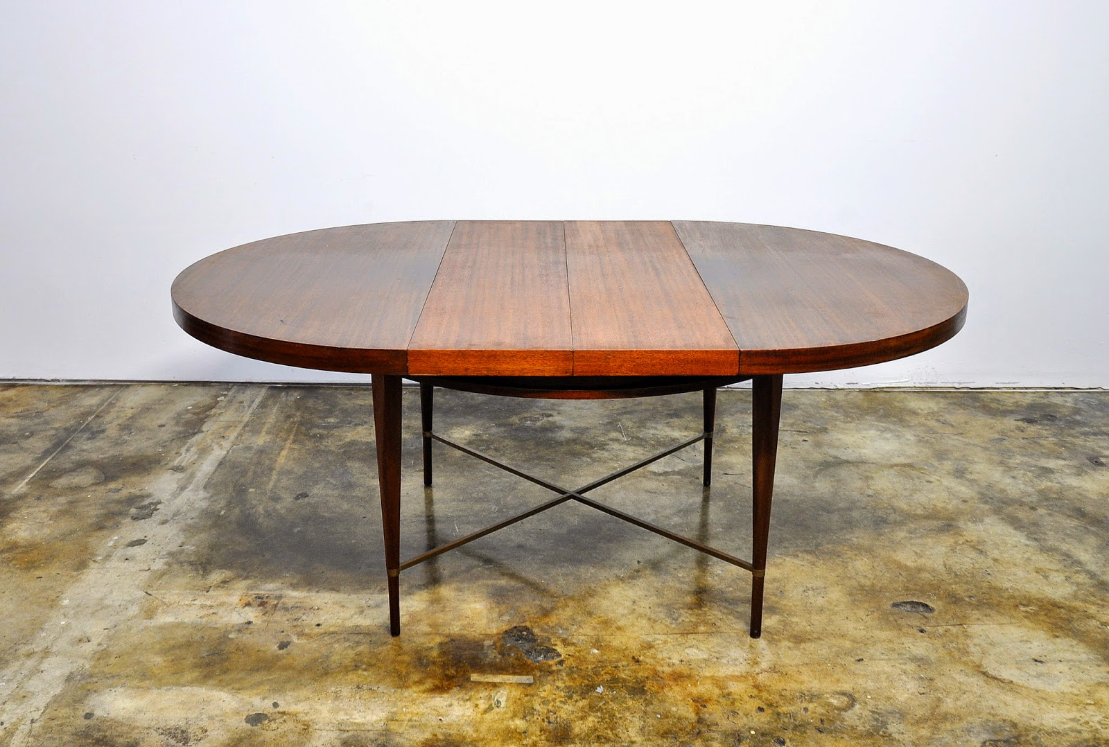 Select Modern Paul Mccobb Expandable Dining Room Table