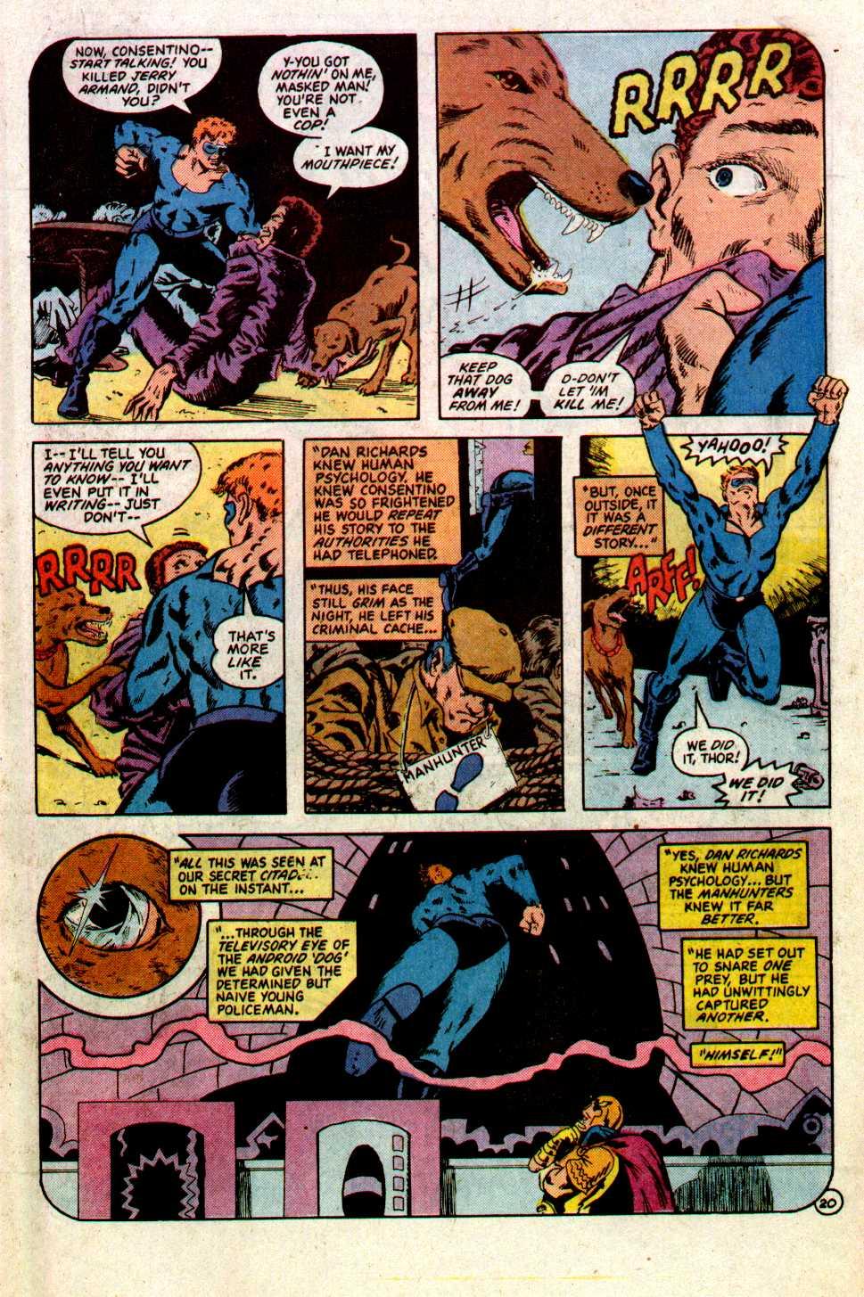 Read online Secret Origins (1986) comic -  Issue #22 - 21