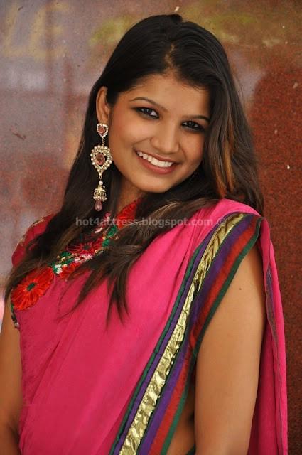 Isha Agarwal Latest Photos in pink saree