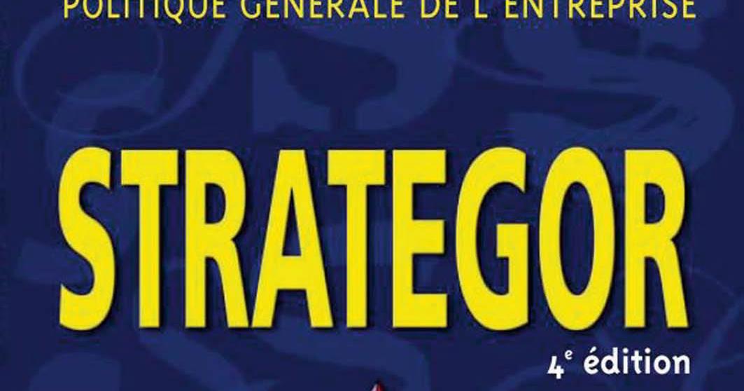 livre strategor gratuit