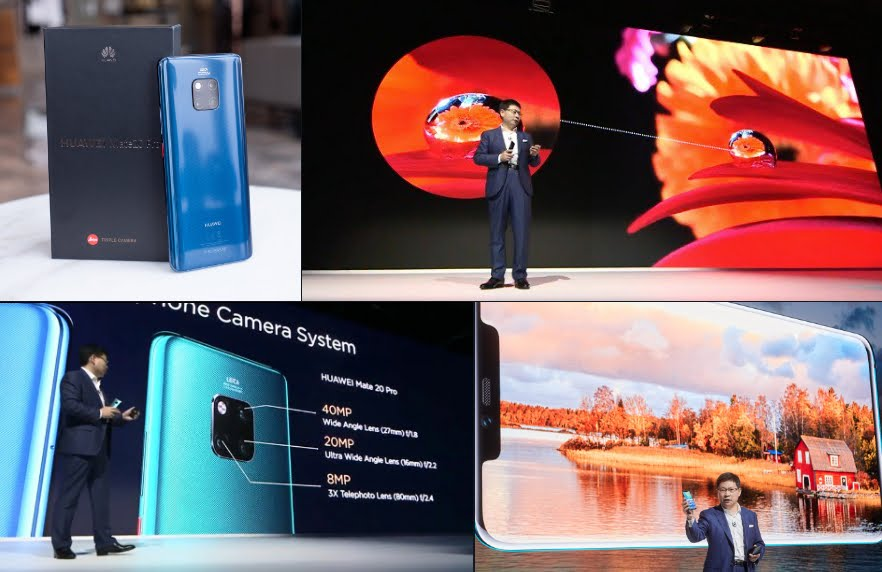 Huawei Mate 20 Pro: fotocamera tripla, sensore schermo e ricarica wireless inversa.