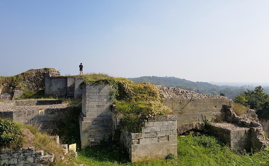 Ruines à Valkenburg
