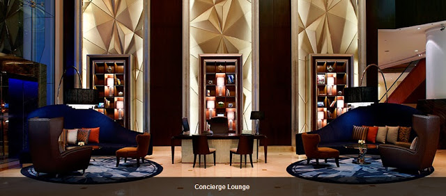 geometric design shapes, intercontinental hotel kl