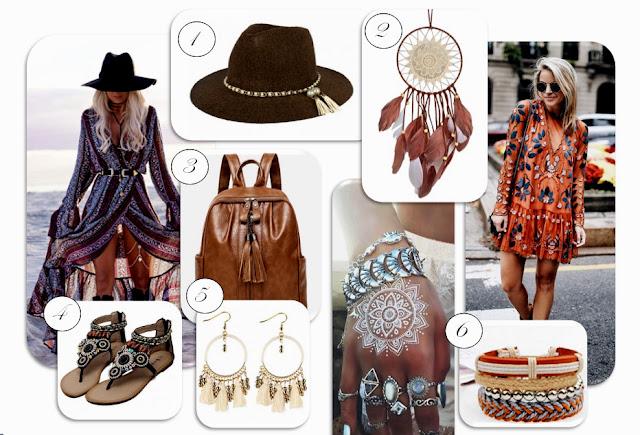 boho, hippie, orient, moda, trendy, fashion, styl boho, bohemian, bohema, gypsy, dodatki w stylu boho, zaful, wishlist