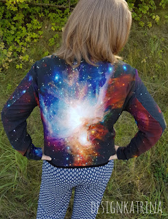 Space jacket made by DesignKatrina
