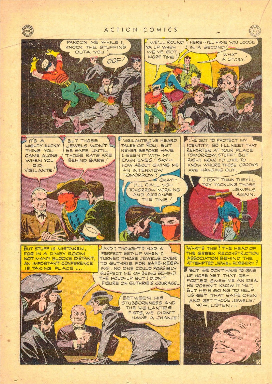 Read online Action Comics (1938) comic -  Issue #80 - 27