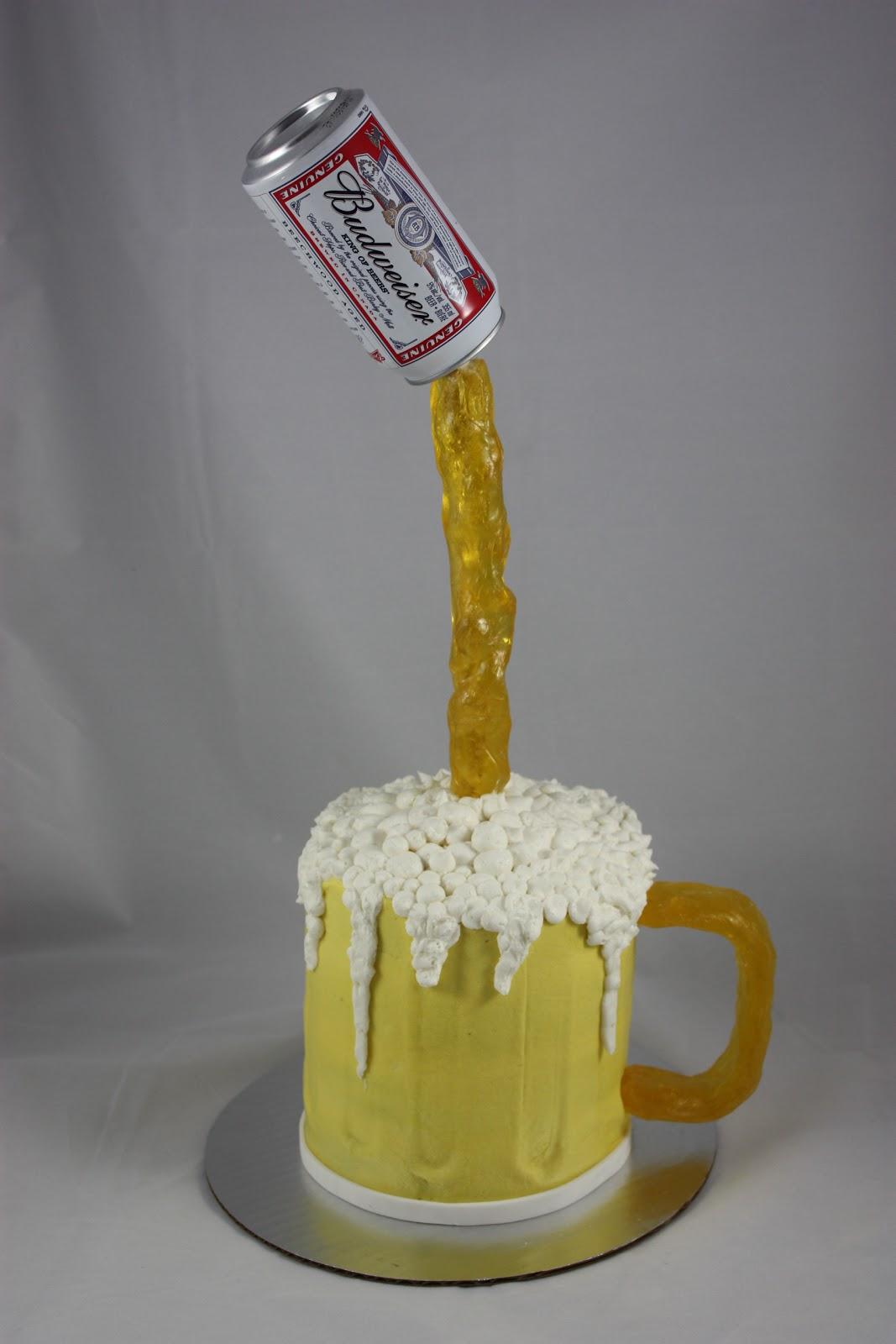 Pouring Beer Cake Recipe
