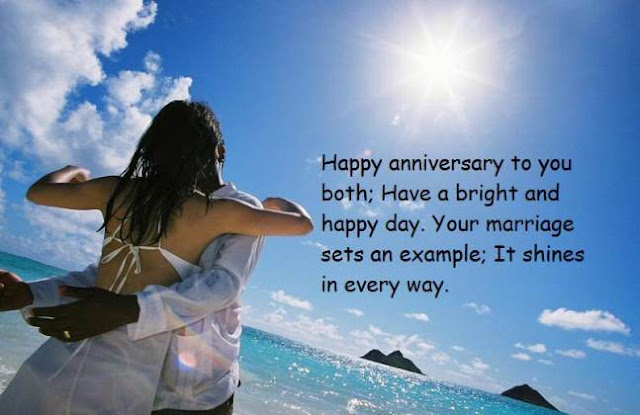 Wedding anniversary message
