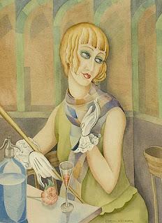 Pintura de Lili Elbe por Gerda Wegener
