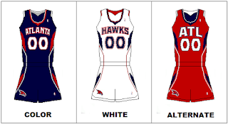 Atlanta Hawks NBA Team Uniforms