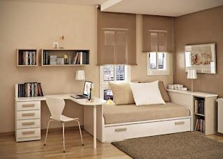 zona de estudio dormitorio juvenil