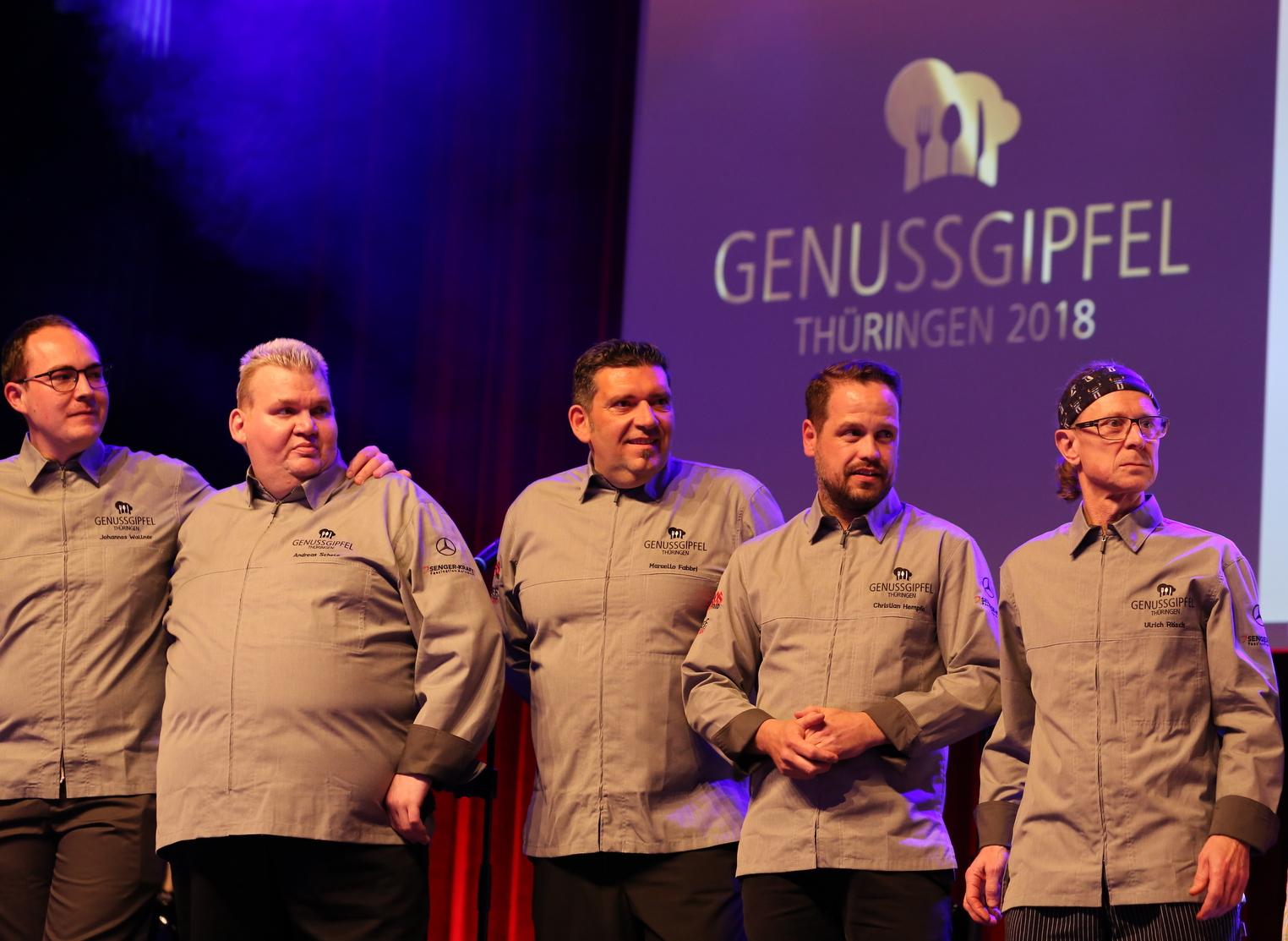 Genussgipfel Thüringen 2018: Acht Köche - ein Genuss*