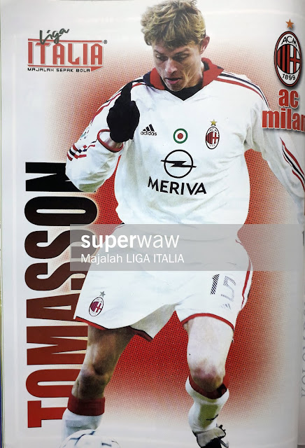 PIN UP TOMASSON (AC MILAN)