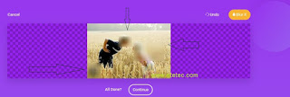 ImageBlur is another site for working with images that makes great adjustments and additions