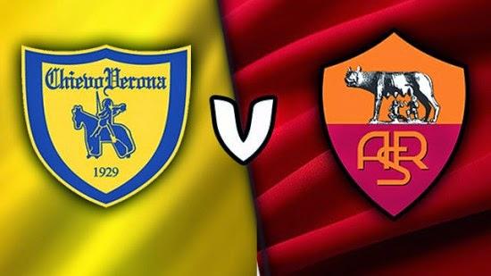 نتيجة مباراة روما وكييفو فيرونا 5/2 اليوم 20-5-2017 محمد صلاح يحرز ثنائية ويؤكد الوصافة للذئاب