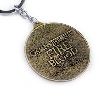 Targaryen keychain solid back