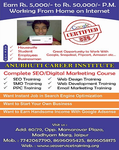 seo course institute in jaipur sikar
