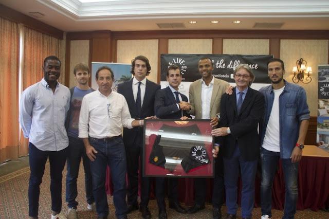 El Mallorca presenta a Be Live hotels como nuevo patrocinador