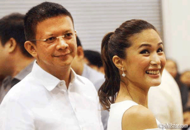 Heart Evangelista Getting Engaged or Married to Chiz Escudero