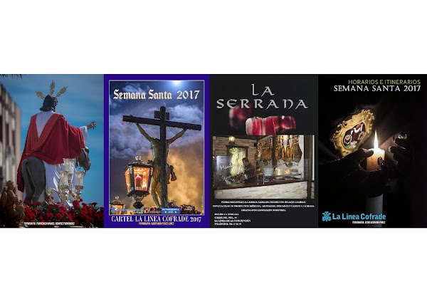 Programa, Horario e Itinerario Semana Santa La Linea (Cádiz) 2017: Programa La Linea Cofrade